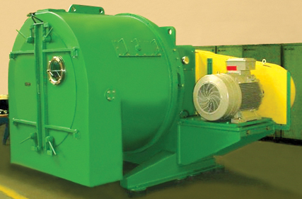 Screen scroll centrifuges AH are horizontal scroll/screen driers. Fine material to be dewatered is fed to the small end of a revolving cone shaped screen basket.