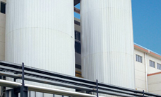 Bleaching tower - discharge system