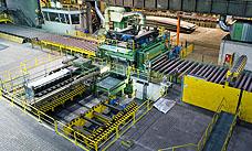 Plate Leveller at ThyssenKrupp Duisburg, Germany