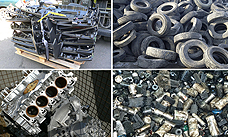 Automotive parts for recycling